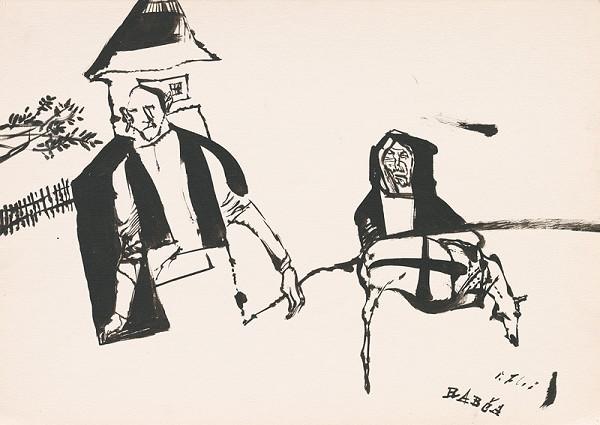 Vincent Hložník – Kresba z Oravy XLIII.