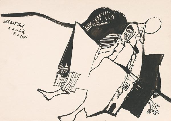 Vincent Hložník – Kresba z Oravy XLV.