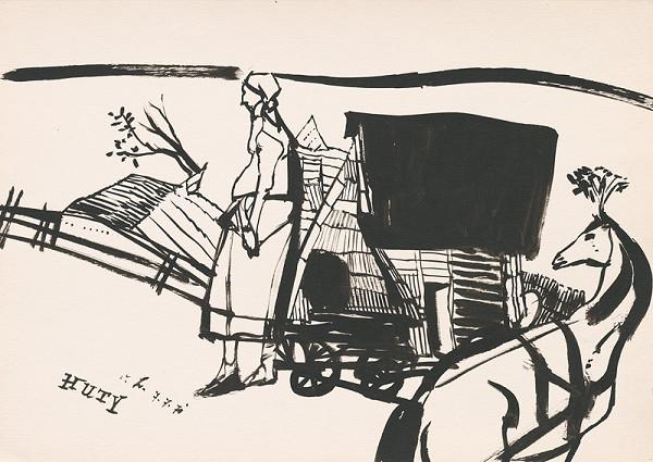 Vincent Hložník - Kresba z Oravy XLVI.