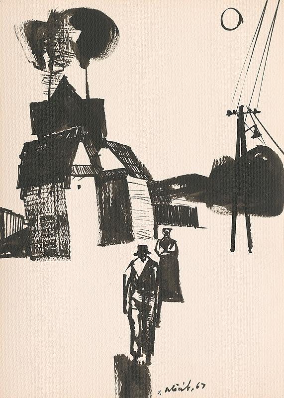 Vincent Hložník – Kresba z Oravy XLVII.