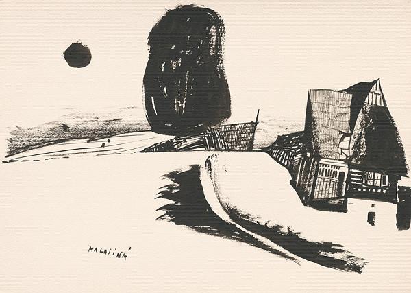 Vincent Hložník - Kresba z Oravy LVIII.