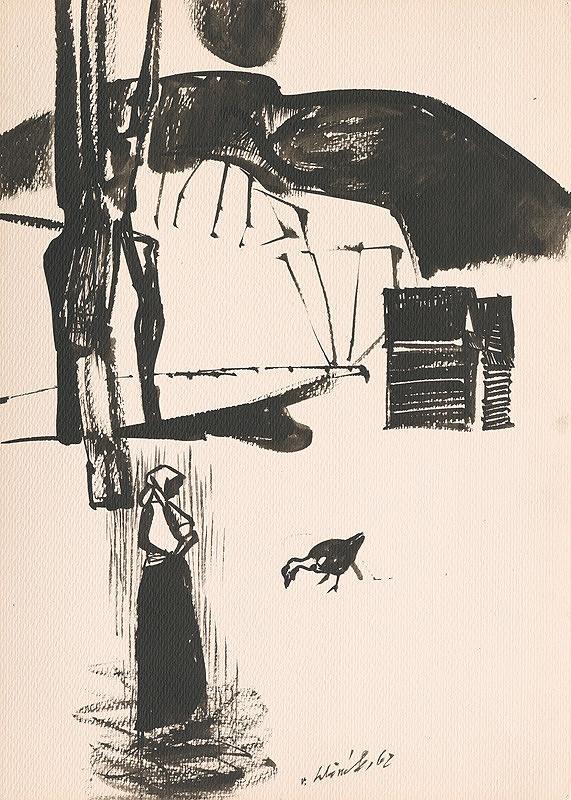 Vincent Hložník – Kresba z Oravy LIX.