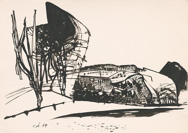 Vincent Hložník - Kresba z Oravy LXI.