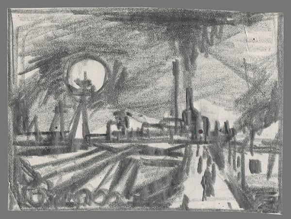 Viliam Chmel – Náčrt priemyselnej krajiny II.
