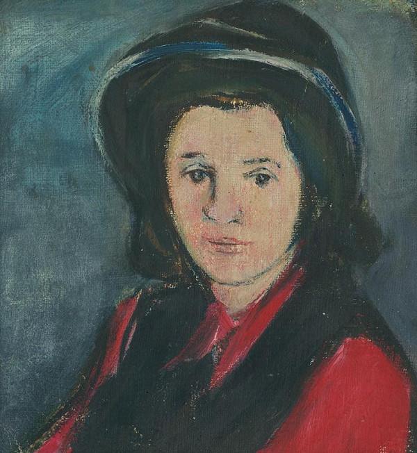 Jozef Šturdík - Dievča v klobúku