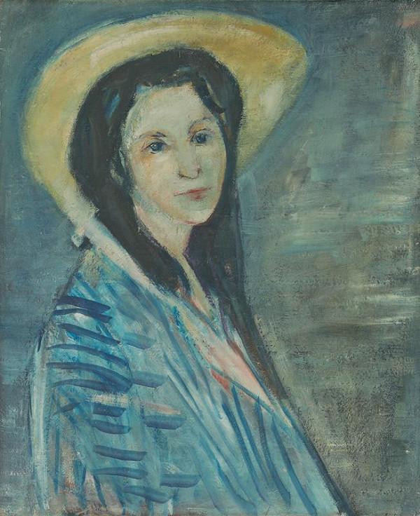 Jozef Šturdík - Žena v modrom