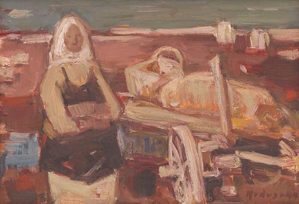 Mária Medvecká - Jeseň v poli