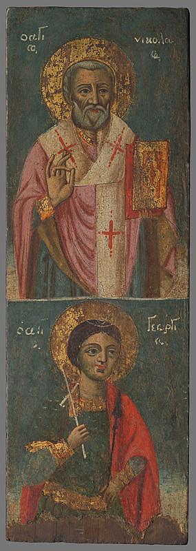 Neznámy autor - Sv.Mikuláš,sv.Juraj
