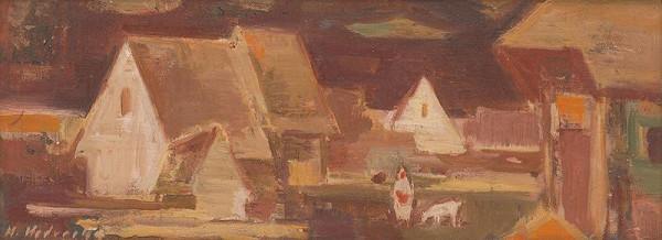 Mária Medvecká - Na dvore