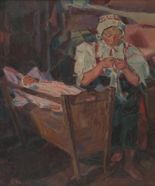 Gustáv Mallý – Pri kolíske
