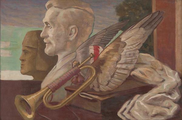 Milan Thomka Mitrovský - Symbolické zátišie