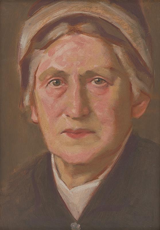 Milan Thomka Mitrovský - Portrét E.M.Šoltésovej