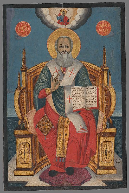 Neznámy autor - Sv. Athanasios