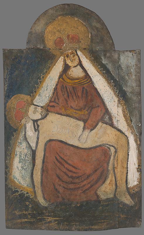 Slovenský ľudový maliar z 19. storočia - Pieta