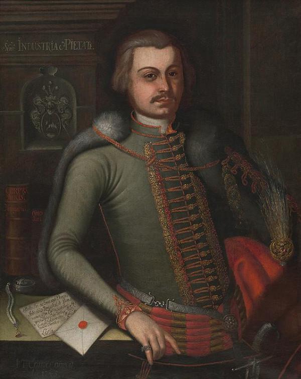 Ján Gottlieb Kramer - Portrét Jóba Zmeškala