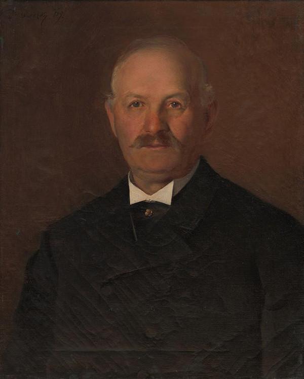 Dominik Skutecký - Portrét staršieho muža