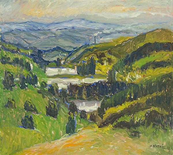Jozef Kollár - Krajina s rybníkmi