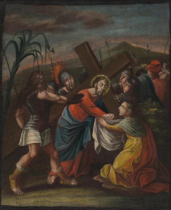 Neznámy autor – Sv. Veronika (6. zastavenie Krížovej cesty)