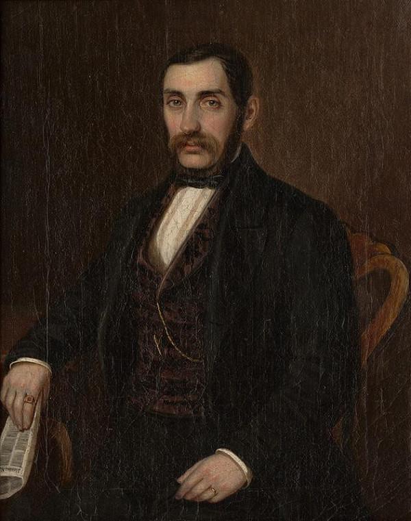 Peter Michal Bohúň - Podobizeň Petra Makovického