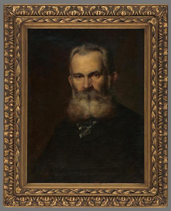 Eduard Ballo - Podobizeň maliara Teodora Boemma