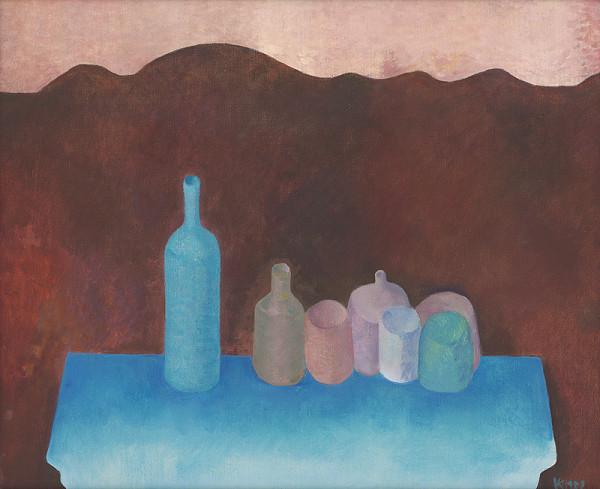 Viera Kraicová - Na modrom stolíku