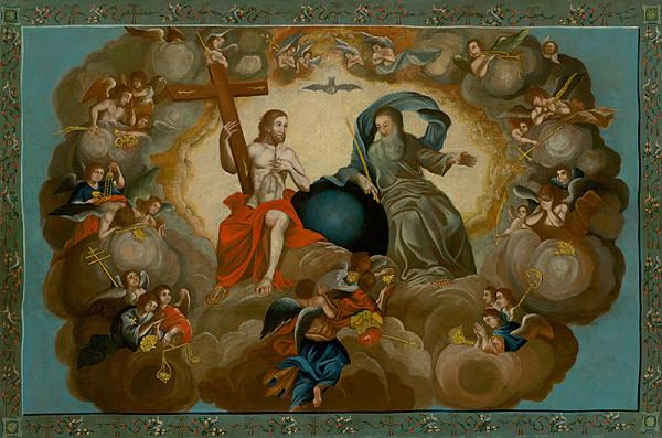 Nemecký maliar z 18. storočia – Svätá Trojica