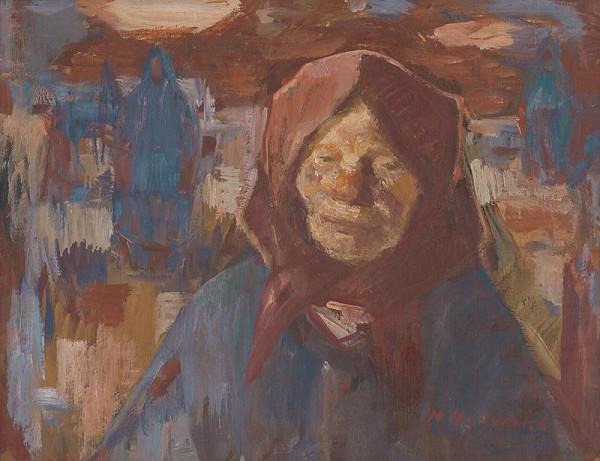 Mária Medvecká - Ženy v modrom