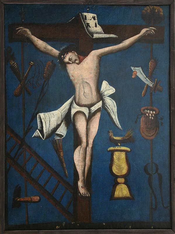 Neznámy autor - Ukrižovanie Krista