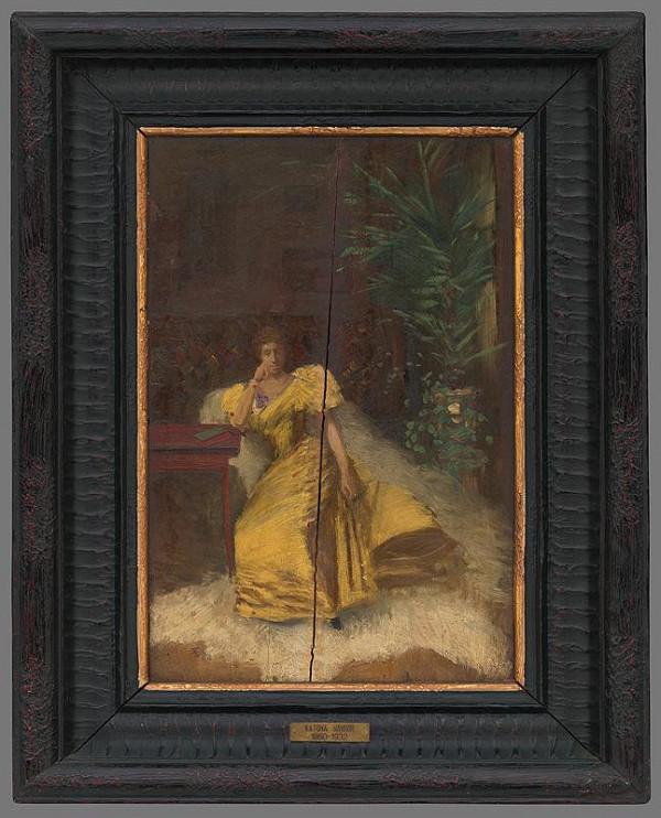 Ferdinand Katona – Portrét umelcovej matky