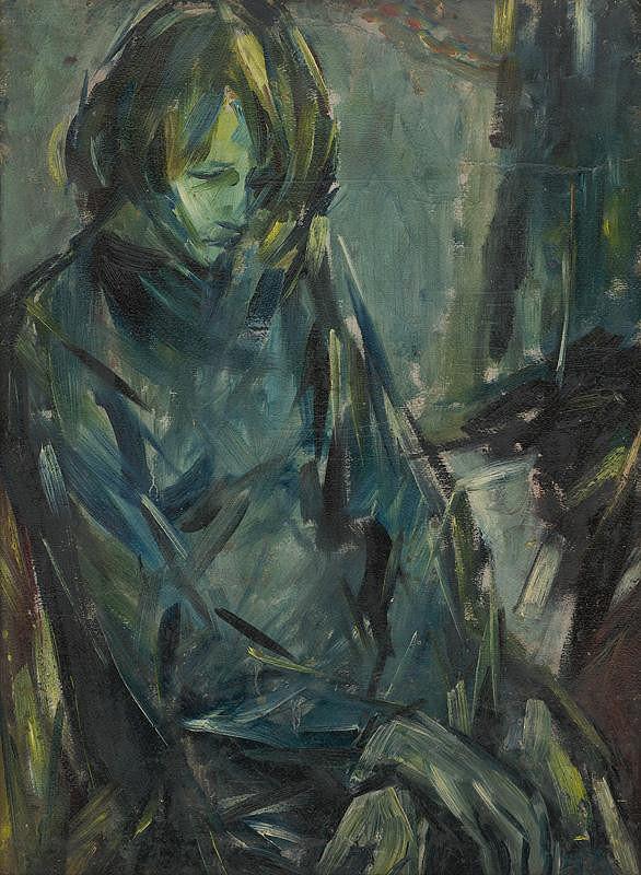 Vincent Hložník - Smutné dievča
