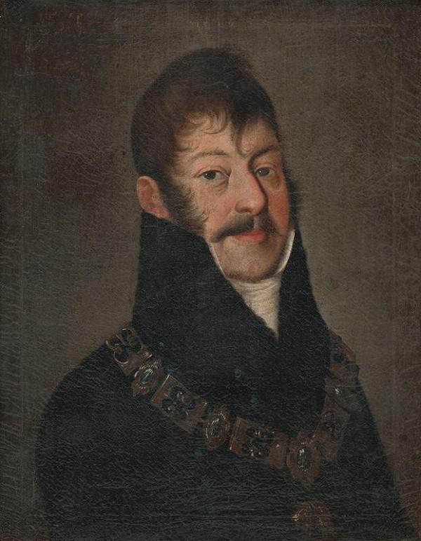 Slovenský maliar zo začiatku 19. storočia - Portrét Štefana II. Illésházyho