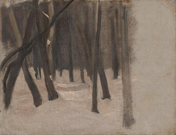 Ladislav Mednyánszky – Na okraji lesa