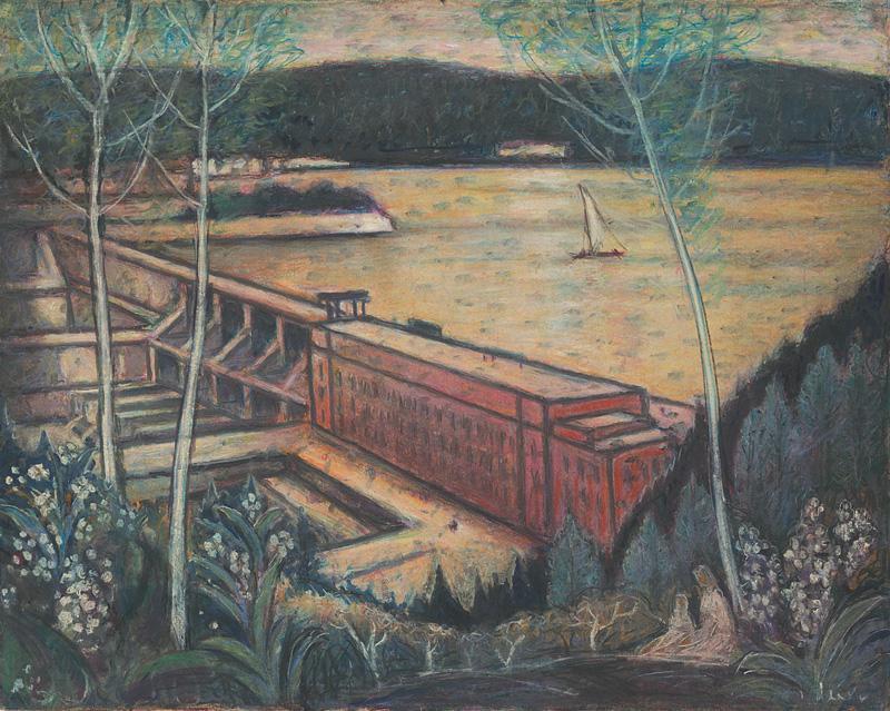 Janko Alexy – Priehrada, 1960 – 1963, Oravská galéria