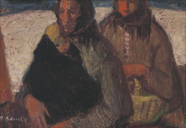 Mária Medvecká – Na saniach