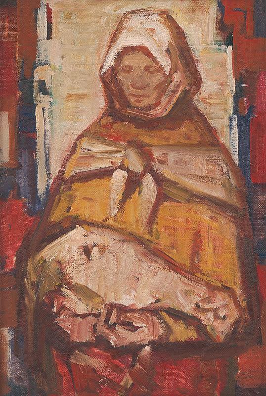 Mária Medvecká - Žena s barančekom