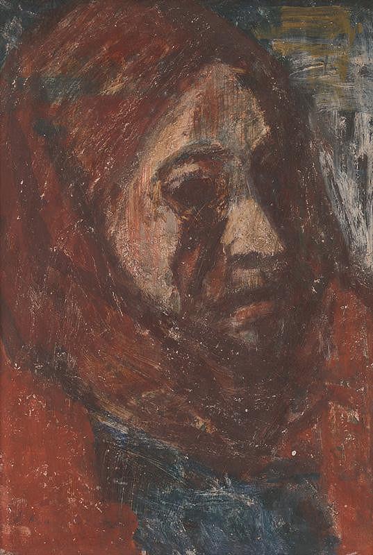Mária Medvecká – Stará žena