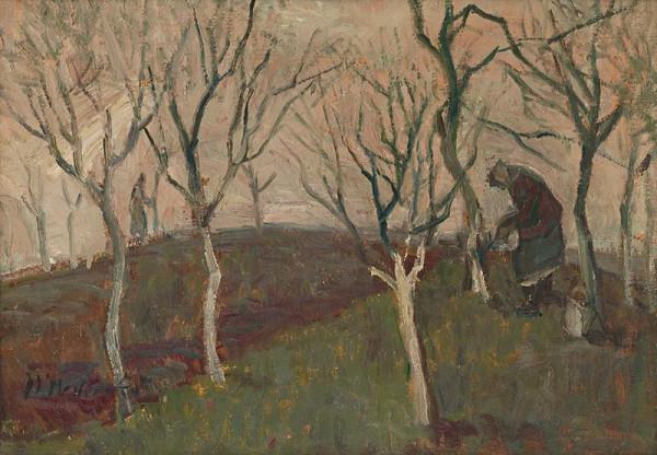 Mária Medvecká – Bielenie stromov