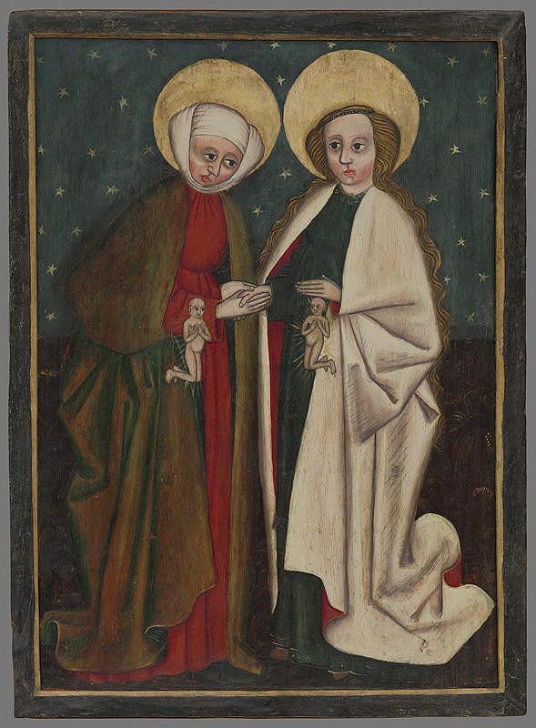 Slovenský maliar z 2. polovice 15. storočia - Navštívenie