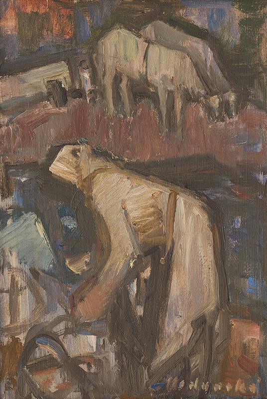 Mária Medvecká - Žena v poli
