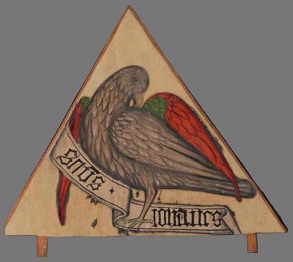 Neznámy autor – Fragment oltára-atribút evanielistu Jána