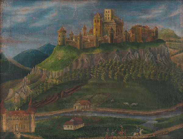 Adolf Medzihradský - Šarišský hrad