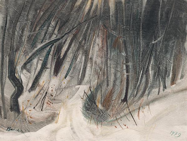 Béla Bacskai – Zima v lese