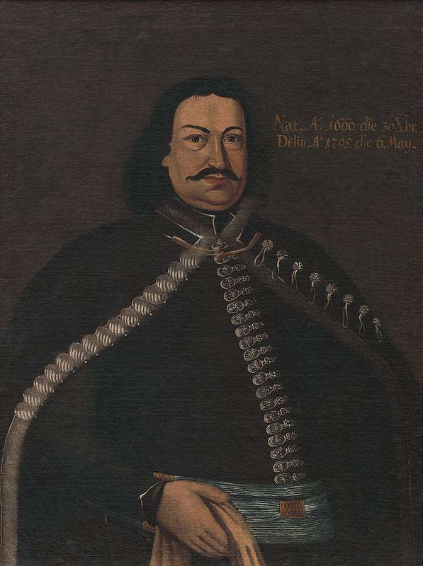 Slovenský maliar z prelomu 17. - 18. storočia - Podobizeň N. Kubínyiho