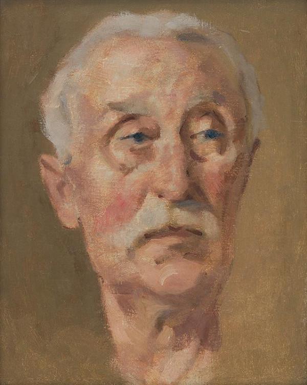 Milan Thomka Mitrovský - Portrét umelcovho otca