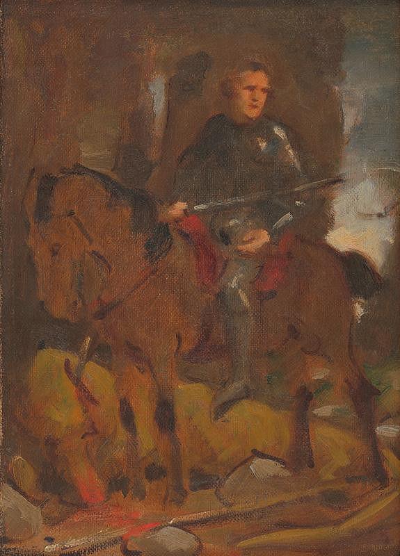 Milan Thomka Mitrovský - Štúdia k historickému obrazu