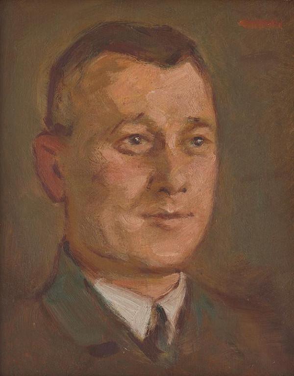 Milan Thomka Mitrovský – Portrét neznámeho muža