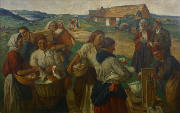 Mária Medvecká – Odovzdávanie kontingentu na hornej Orave
