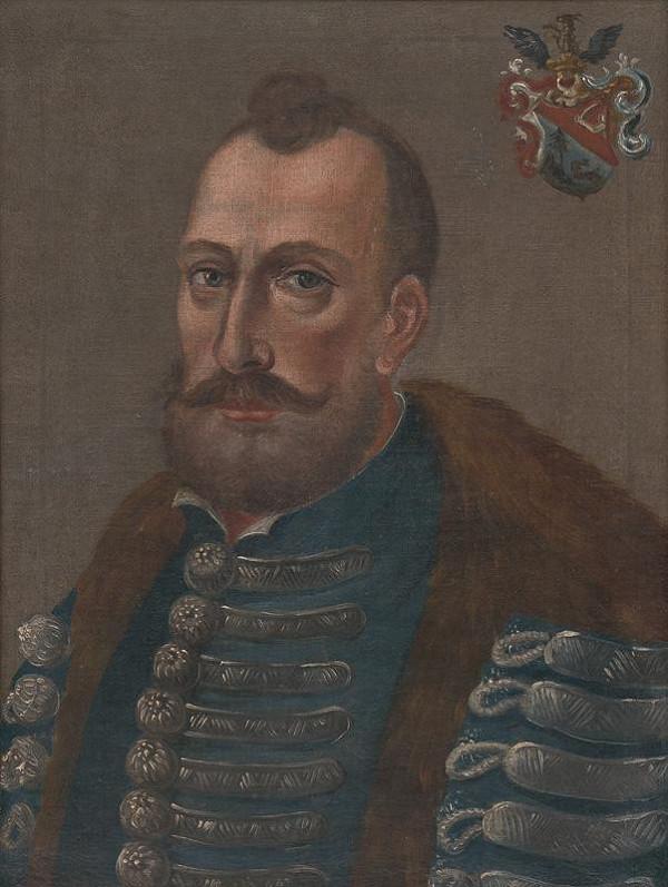 Samuel Letač - Portrét Štefana Kubínyiho