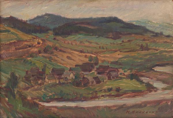 Mária Medvecká - Ľavkovo pred zatopením