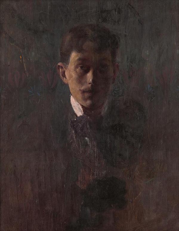 Alexander Kubínyi – Autoportrét